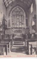 FOWEY CHURCH INTERIOR - England
