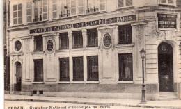 Cpa.08  Sedan , Comptoir National D'escmpte De Paris, 20,place D'armes Et Place Crussy - Sedan