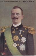 S.M.  EMMANUEL  III . ROI  D'ITALIE - Familles Royales