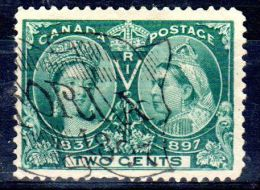 1897, 60e Anniversaire Du Règne De Victoria, YT 40, Oblitéré, Lot 43430 - Used Stamps
