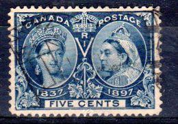 1897, 60e Anniversaire Du Règne De Victoria, YT 42, Oblitéré, Lot 43434 - Used Stamps