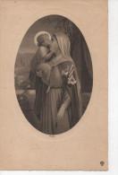 Gravure Vierge Et Petit JESUS Graveur BOUHARD Fils Paris - Prints & Engravings