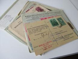Ungarn 1930er Jahre Belegeposten / Firmenkorrrspondenz. 30 Briefe. Schöne Frankaturen / Express / Perfins. Interessant!?