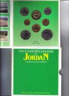 Jordan Uncirculated Coin Collection 1985 Ufficiale FDC - Jordanië