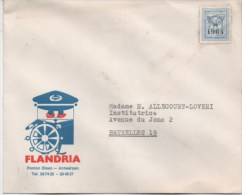 Envellope - FLANDRIA - 1964 - Belgique