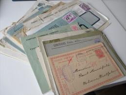 Belgien Belegeposten 1887 - 1950er Jahre Aus Firmenkorrespondenz! 40 Briefe! Interessante Stempel Und Schöne Umschläge - Sammlungen