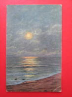 "Vintage Postcard "" The Golden Night ""  - Meyer - Paintings"