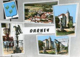 C4160 Cpsm 88 Darney - Vue Aérienne - Darney