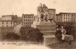 75 TOUT PARIS  Square Du Père-Lachaise - Arrondissement: 11