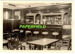 M.V. BAUDOUINVILLE - Paquebot - Le Bar - Dampfer