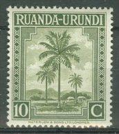 RUANDA-URUNDI 1942: COB 127, ** MNH - LIVRAISON GRATUITE A PARTIR DE 10 EUROS
