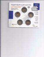 Speciale 2 Euromunt 2006 Duitsland In BU-SET Alle 5 Letters - Allemagne