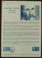 COLLECTION HISTORIQUE - YT N°2454 - CHARLES RICHET - 1987 - 1980-1989
