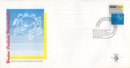 Aruba - FDC E21 - Union Postal Universelle - UPU Embleem - NVPH E21 - Post