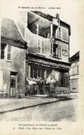 02 CONDE En BRIE 2è Bataille De La Marne Juillet1918  Hôtel De L´Est Animée - Andere Gemeenten