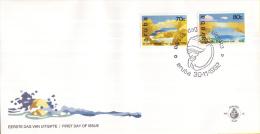 Aruba - FDCE42 - Natuurlijke Bruggen - Brug Zuidkust/Brug Noordkust - NVPH E42 - Bruggen