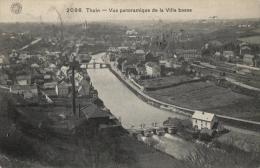 BELGIQUE - HAINAUT - THUIN - Vue Panoramique De La Ville Basse. (n°2098). - Thuin