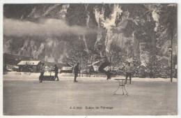 Scène De Patinage - JJ 8031 - 1910 - Deportes De Invierno