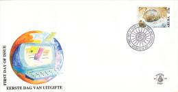 Aruba - FDC96 - U.P.U., Samenspraak  Tussen Beschavingen - Rotstekeningen - NVPH E96 - Curaçao, Nederlandse Antillen, Aruba