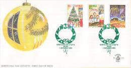 Aruba - FDCE114 - Decemberzegels - Kerstboom/Kerstgezang/Vuurwerk - NVPH E114 - Curaçao, Nederlandse Antillen, Aruba