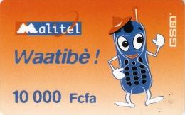 *MALI* - Scheda Telefonica Usata - Mali