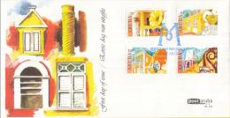 Aruba FDCE131 - Historische Musea - Antiek Museum/numismatisch Museum/archeologie Museum/historisch Museum - NVPH E131 - Curaçao, Nederlandse Antillen, Aruba