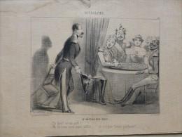 Napoléon III, Le Gâteau Des Rois,  Lithographie Originale De Ch VERNIER  V 1848,   ; Ref 907 G12 - Prints & Engravings