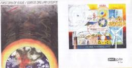 Aruba - FDCE146 - Opwarming Van De Aarde - Orkaan/Verdroging/Industrie/Duurzame Energie- NVPH E146 - Curaçao, Nederlandse Antillen, Aruba