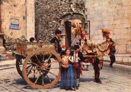Sicilia - Cartolina CARRETTO SICILIANO - PERFETTA L22 - Europe