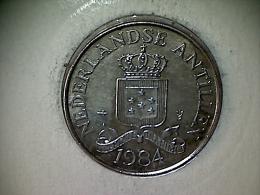 Nederland - Antilles 2 1/2 Cent 1984 - Colombia
