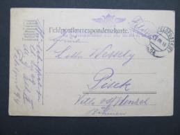 Feldkorrespondenzkarte Feldpost Feldpostamt Nr.94 1915  ///  D*16665 - Briefe U. Dokumente