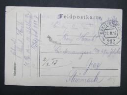 Feldkorrespondenzkarte Feldpost Feldpostamt Nr. 282 B 1917 Graz  ///  D*16670 - 1850-1918 Imperium