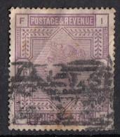 Victoria Grands Cadres 2s/6p  Violet N°86 - Used Stamps