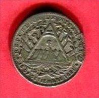 5 CENTESIMOS   1887 SOUDURE  (KM 5  )  B 5 - Nicaragua