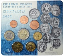 Monnaie �uro BU Gr�ce 2007 - Rare