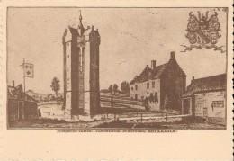 ROTSELAAR (3110) :  Burcht TERHEIDE Volgens Gravure Van J. LE ROY (1730). CPSM. - Rotselaar