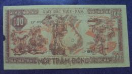 North Vietnam Viet Nam 100 Dong AU Banknote 1948 / 02 Images - Vietnam