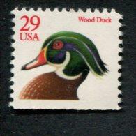 319248886 USA 1991 ** MNH  SCOTT 2485 Wood Duck Onder Ongetand - Unused Stamps