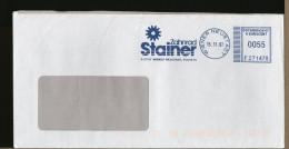 AUSTRIA  -  EMA  -  ZANHARAD  STAINER  -  WIENER NEUSTADT  -  Ruote Dentate Ingranaggi - Poststempel - Freistempel