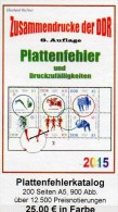 RICHTER Teil 4 DDR Katalog Abarten+PF In Zusammendrucke 2015 New 25€ Abart Varianten Se-tenant Special Catalogue Germany - Matériel