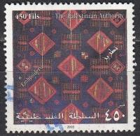 Palestina, 2003 - 450f Embroidery - Nr.172 Usato° - Palestina