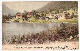 CPA Lac Champey Valais Suisse - VS Valais