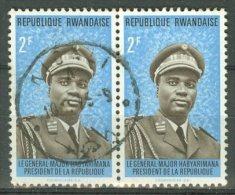 RWANDA 1974: COB 573, O - LIVRAISON GRATUITE A PARTIR DE 10 EUROS - Rwanda