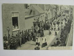 Cpa/pk Hoogstraten Hoogstraeten Ste Katharina Kerk - Bloedprocessie - Hoogstraten