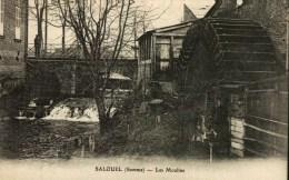 CPA  (80)     SALOUEL  -    Les Moulins - Autres Communes