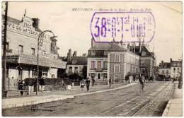 Montargis - Avenue De La Gare - Entrée De La Ville ( Tampon / Cachet Militaire à Voir ) - Montargis