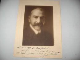 FOTO FOTOGRAFIA B/N D EPOCA CON AUTOGRAFO 1927 - Photographie