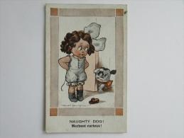 Cpa/pk 1920 Bonzo Naughty Dog Spurgin - Dogs
