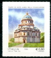 ITALIA / ITALY 2015** - Tempio Di Santa Maria Della Consolazione - Todi - 1 Val. Autoadesivo Come Da Scansione - 6. 1946-.. Repubblica