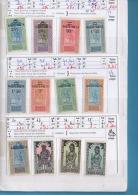Carnet De HAUTE VOLTA, GUINÉE -  9 Scans. Cote Yvert = 120 €uros - Collections (en Albums)